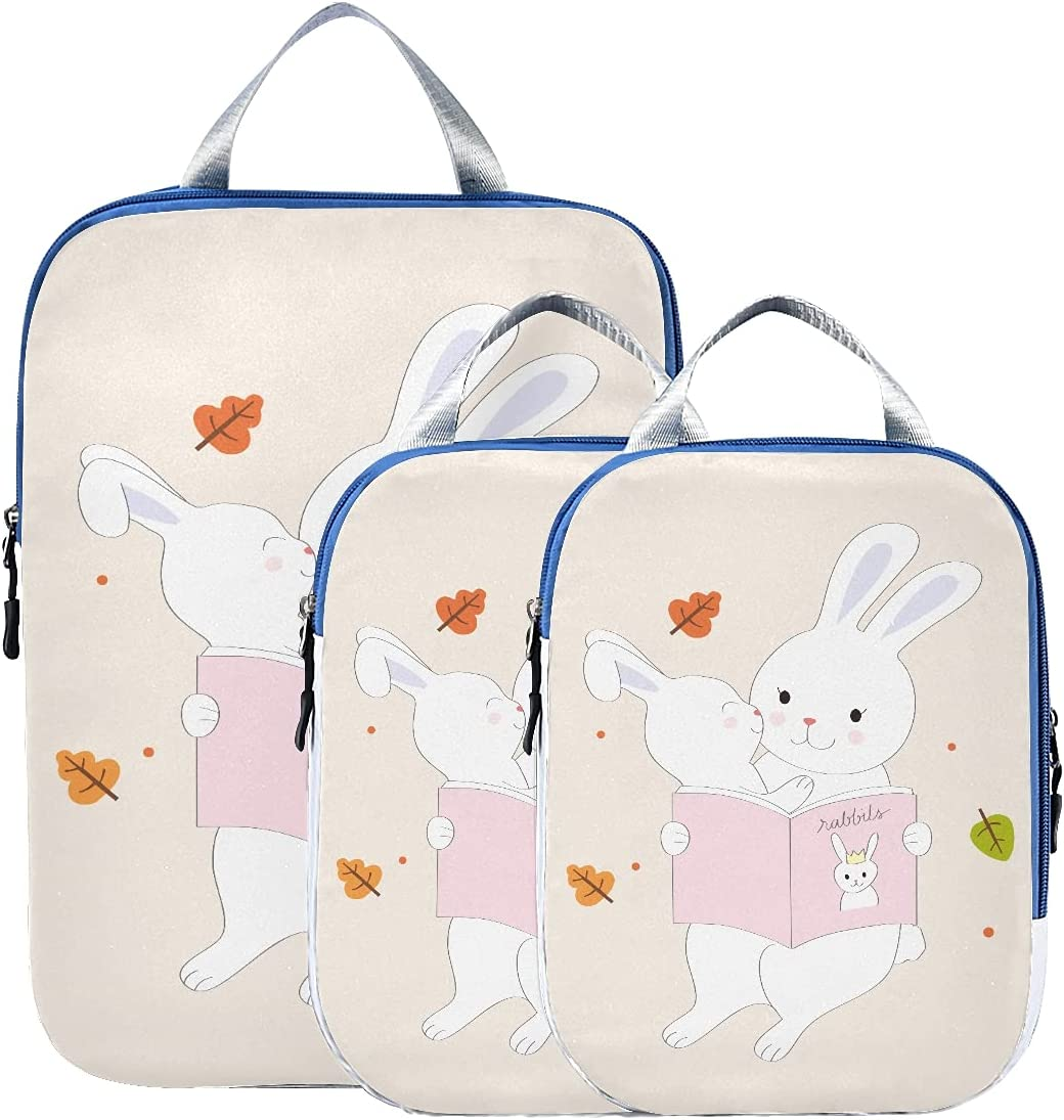 Packing Animer and price revision Bags Cute Mom And Super beauty product restock quality top Baby Organiz Rabbit Reading Travel Bag