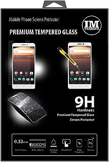 ENERGMiX Premium härdat skyddsglas kompatibel med ALCATEL A3 XL (6,0 tum) pansarglas skydd glas extremt reptåligt säkerhet...