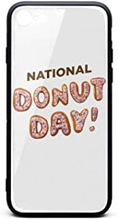 Phone Case for iPhone 6/6S Dunkin' Donuts' National Donut Day TPU Gel Full Body Protection Cute Anti-Scratch Fashionable Glossy Anti Slip Thin Shockproof Soft Case