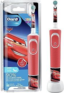 Oral-B Kids Cars elektryczna szczoteczka do zębów dla dzieci od 3 lat, mała głowica szczoteczki i miękkie włosie, 2 progra...