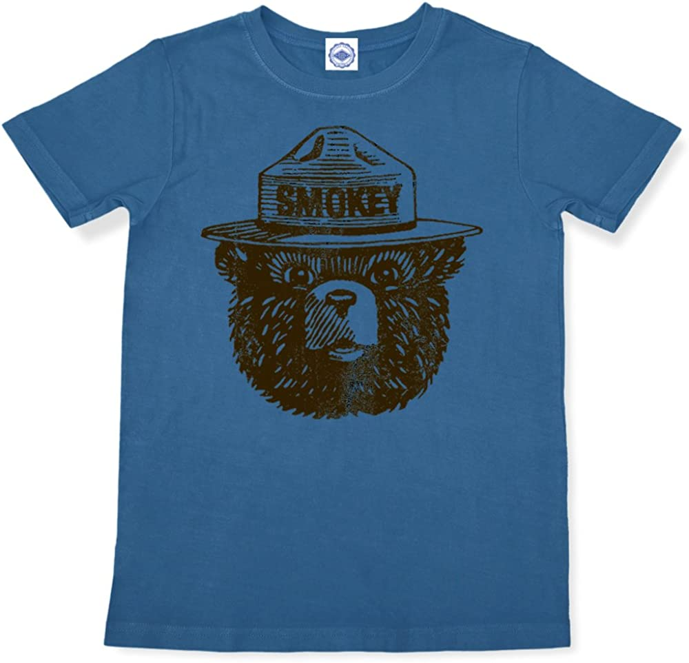 Large-scale sale Hank Player Very popular U.S.A. Official T-Shirt Bear Smokey Kid's