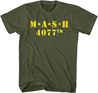 American Classics Mash Men's M.A.S.H. 4077th Logo T-Shirt