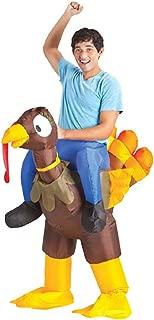 Inflate Turkey Rider Adult Costume
