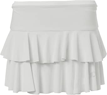 ZJ Clothes Womens Floricient Neon Jersey Mini Skirt
