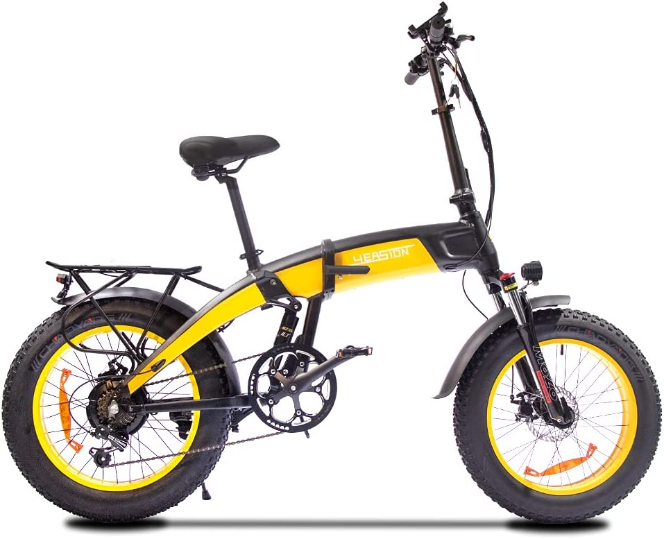 YEASION Fat Tire Electric Bike Ranking integrated Ranking TOP15 1st place for Adults 1000W R 14Ah Motor 48V