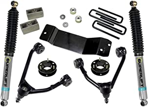Superlift 3.5 inch Lift Kit - 2014-2018 Chevy Silverado and GMC Sierra 4WD with ALUMINUM or STAMPED STEEL Control Arms ONLY - with Bilstein Rear Shocks | 3600B