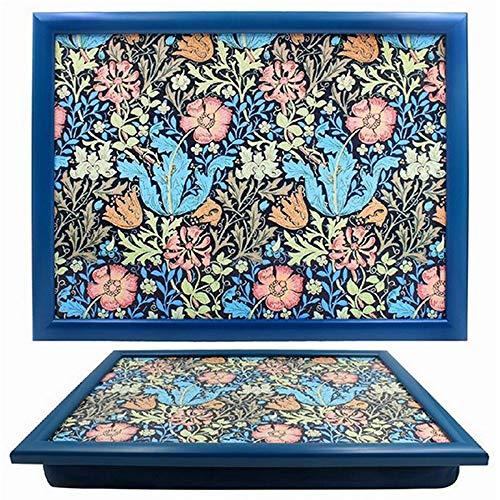 Stylish William Morris Compton Pattern Lap Tray - by Leonardo