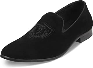 tresmode Men Casual Suede Leather Loafer Shoes  Footwear for Men
