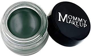 Mommy Makeup Waterproof Stay Put Gel Eyeliner with Semi-Permanent Micropigments - smudge-proof, long wearing, paraben-free - Hunter (Rich Hunter/Forest Green)