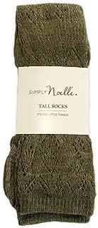 Simply Noelle Weave It To Me Tall Socks (Sage)