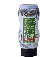 Butternut Mountain Farm 100% Pure Organic Maple Syrup From Vermont, Grade A (Prev. Grade B), Dark Color, Robust Taste, All...