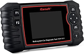 iCarsoft Auto Diagnostic Scanner P700 V2.0 for PORSCHE with ABS Airbag Scan,Oil Service Reset EPB DPF BMS ect