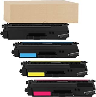 ADE Products Compatible Replacements for Brother TN336 Toner Set High Yield, Brother TN336BK TN336C TN336Y TN336M for Brother HL-L8250CDN HL-L8350CDW HL-L8350CDWT MFC-L8600CDW MFC-L8850CDW Printers