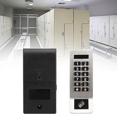Security Door Lock, Keypad Lock, Digital Keypad Electronic Coded Lock Home Security Card Password Door Lock for Sauna Locker