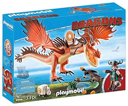 PLAYMOBIL DreamWorks Dragons Garfios y Patán