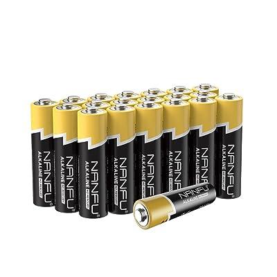 NANFU No Leakage Long Lasting AA 20 Batteries [...