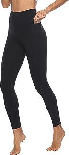 JOYSPELS Women's High Waisted Gym Leggings - Tummy Control Yoga Pants 7/8 Length Leggings with Pockets for Gym, Yoga, Work...