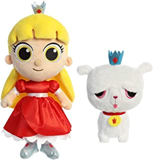 Aurora Plush True and The Rainbow Kingdom - Set of Two: 11 Inch Grizelda and 7.5 Inch Frookie