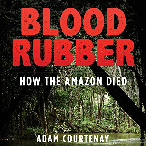 Blood Rubber audiobook cover art
