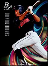 2018 Bowman Platinum Top Prospects Baseball #TOP-53 Quentin Holmes NM-MT Cleveland Indians Official MLB Trading Card