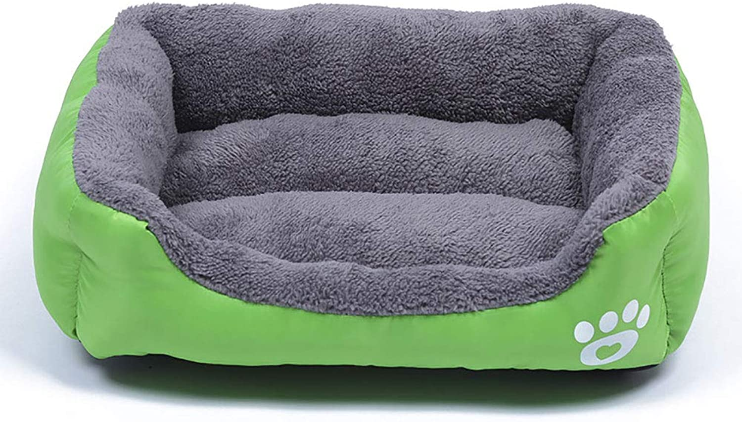 Square Pet Nest, Anti-Sewing Non-Slip Warm Pet Nest Cat Kennel Fashion Pet Bed Suitable for Small Medium and Large Dog Bed