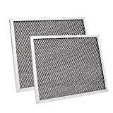 97007696 Replacement Range Hood Filter 2 Pack 8-3/4' x 10-1/2' x 3/32' Kitchen Grease Filter Compatible with Broan, Kenmore, Maytag, Range Hood Charcoal Filter Ventline Grease Filter S97007696 6105C
