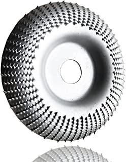 Rasp disc diameter 110 mm x 22 mm, wood carving disc for angle grinder, rasp disc 115 wood for coarse grinding of wood mat...