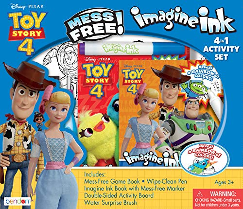 Bendon Toy Story 4 Official Imagine Ink 4-in-1 Kit, Multicolor