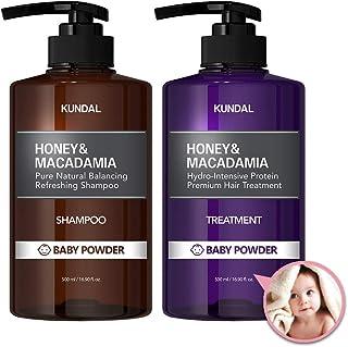 [KUNDAL公式]クンダル プレミアムヘアケアスペシャルセット ベビーパウダー・シャンプー500ml&トリートメント500ml Premium Hair Care Special SET Baby Powder・アミノ酸・ノンシリコン・ノンパ...