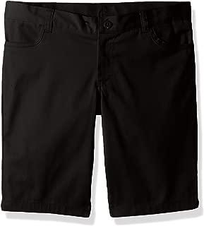 Classroom School Uniforms Girls' Big Plus Size Adj. Matchstick Narrow Leg Short