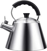 KETTLES Keuken Theepot Whistling Camping 3L Grote Capaciteit Traditionele Fluitje, Geschikt Voor Huishoudelijke Kokend Wat...