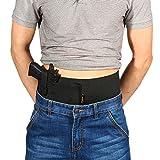 Yosoo Concealed Carry cinturón Vientre Banda Pistola pistolera para Pistolas, Handguns, Revólveres, Glock