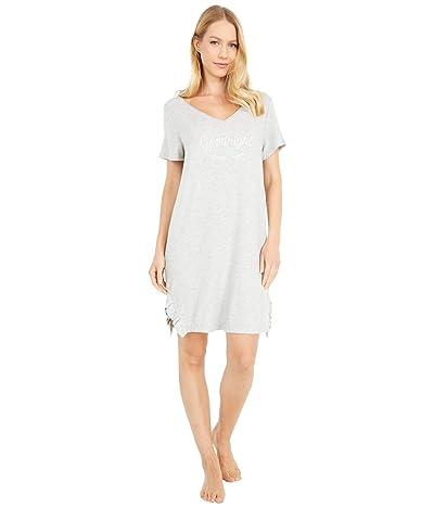 Kate Spade New York Soft Knit Sleepshirt (Grey Heather) Women
