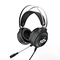 Redgear Trident Wired Over The Ear Headphone with Mic (Black)