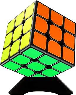 Diester スピードキューブ 競技用キューブ 立体パズル3x3x3 回転スムーズ 知育玩具 世界基準配色 初心者向け 認知症の防止