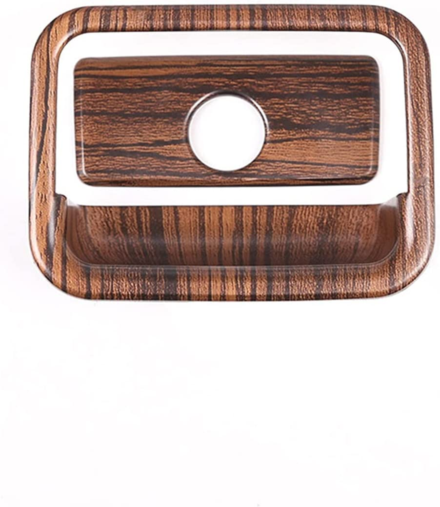XQMY Pine Wood Grain Car New mail order ABS Interior Cover T Trim for Fit free Glove