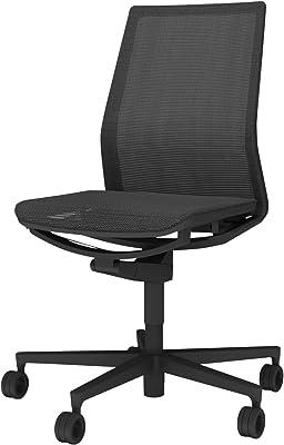 コクヨ ファブレ 椅子 ブラック プレーンタイプ デスクチェア 事務椅子 C01-B101MU-BE6E61 【ラクラク納品サービス】