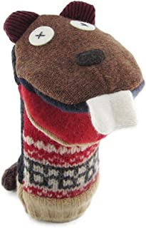 Best Cate & Levi - Hand Puppet - Premium Reclaimed Wool - Handmade in Canada - Machine Washable (Beaver) Review