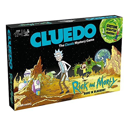 Cluedo 3210 Rick & Morty Board Game