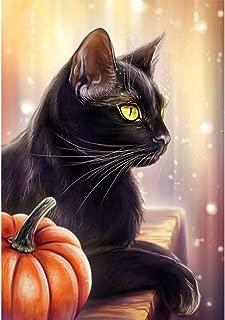Best black cat halloween painting Reviews