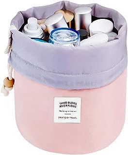 Makeup Bag, YJQueen Travel Makeup Cosmetic Pouch Portable Handbag Toiletry Case Mini Makeup Train Case Cosmetic Bag Cosmetic Organizer Travel Accessories