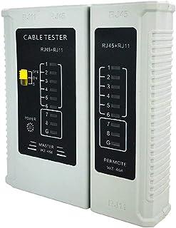 Network line telephone line test instrument RJ45RJ11 line tester network cable tester repair computer line