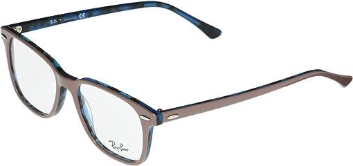 Top Light Brown/Havana Blue