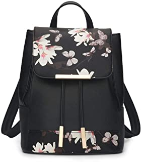 Fashion Student Backpack PU Leather Women Handbags