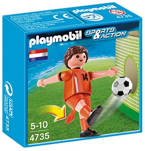 Playmobil Fútbol: Jugador Holanda  4735