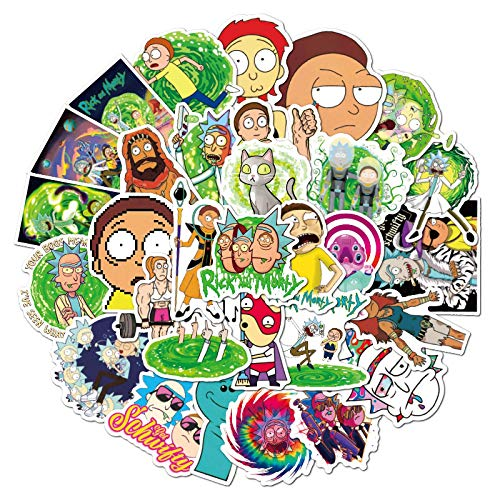 MBGM 100 pegatinas de imagen de personaje de dibujos animados personalizadas decoración maleta casco cargador pvc pegatinas impermeables