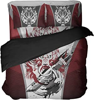Final Fantasy Bedding Sets Game Quilt Sets 1 Duvet Cover Great Gift Bed Set Queen 4pcs