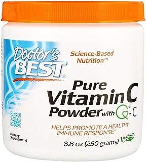 Doctors Best Pure Vitamin-C Powder with Q-C - 250 g