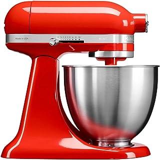 KitchenAid 凯膳怡 3.3L全功能厨师机,满足三口之家使用 (暖橘红/5年?#26102;?220V电压)