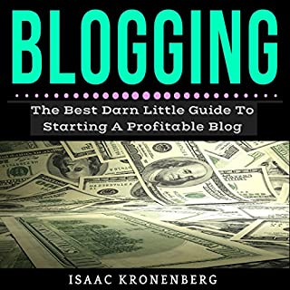 Blogging cover art